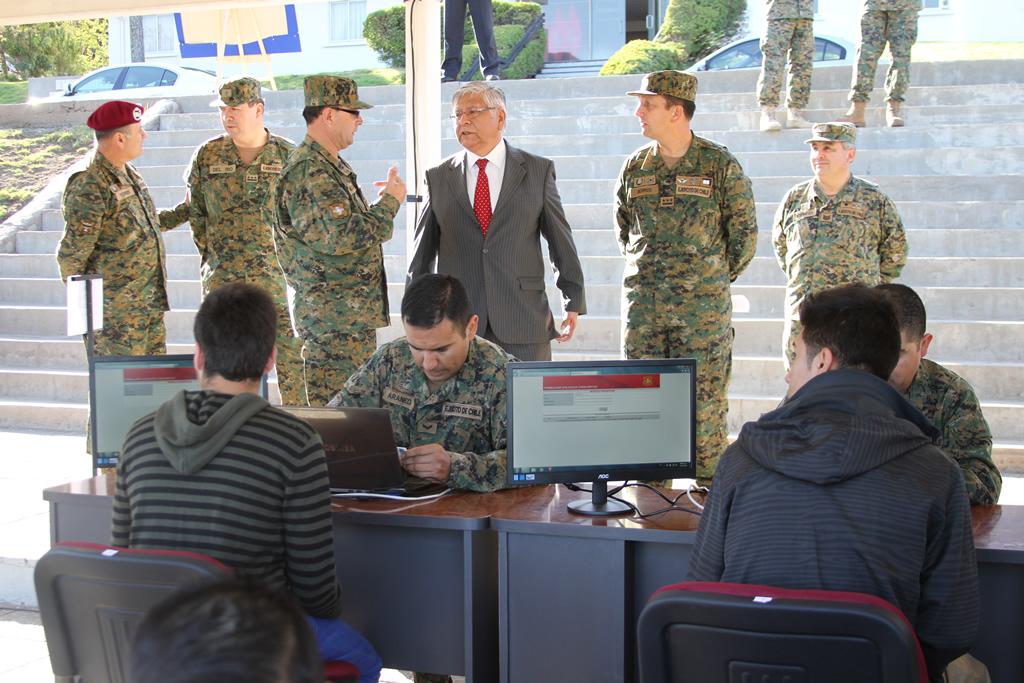 SUBSECRETARIO PARA LAS FUERZAS ARMADAS Y DIRECTOR GENERAL ASISTEN AL PROCESO DE SELECCIÓN DEL EJÉRCITO