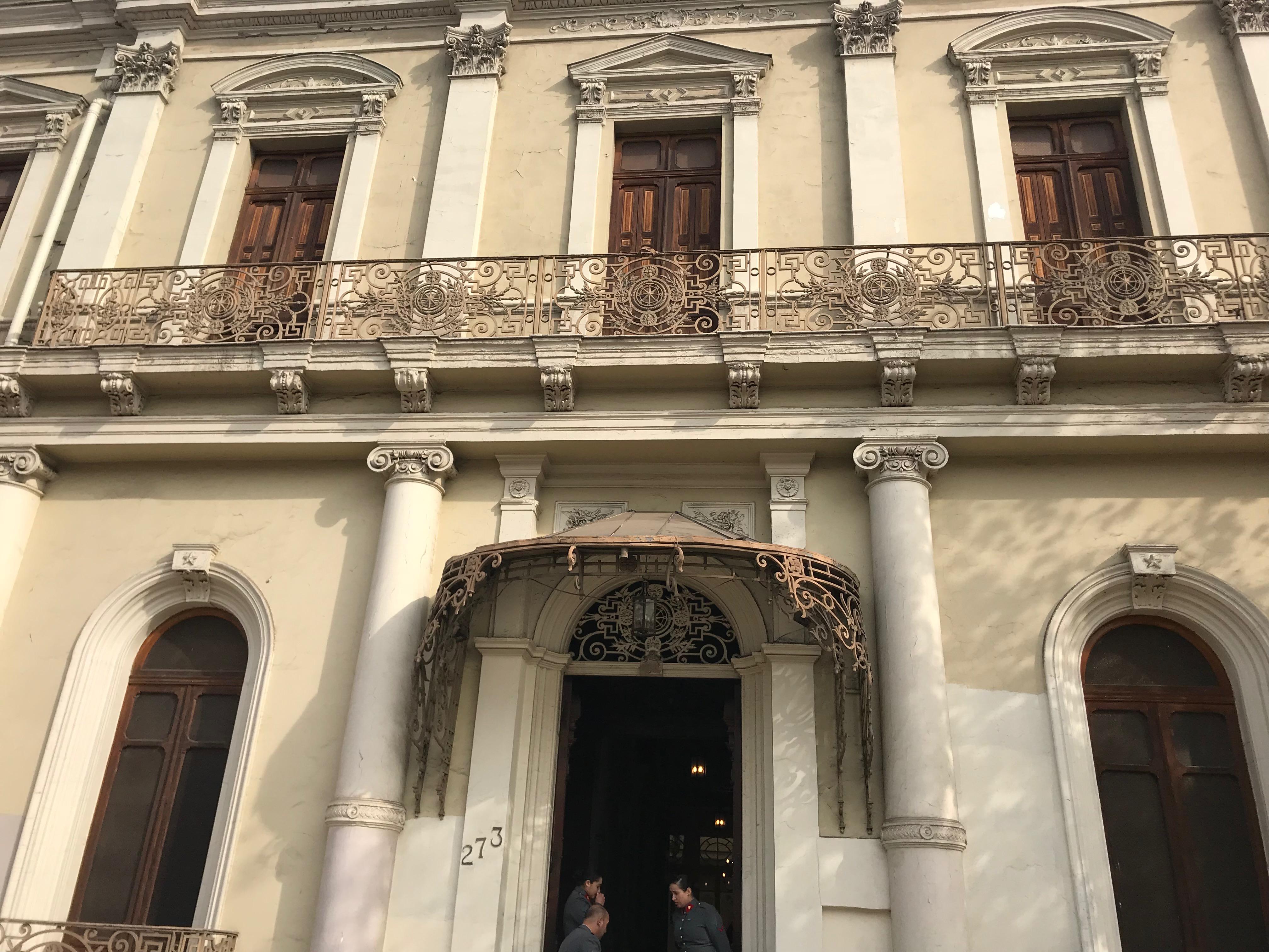SALUDO PROTOCOLAR DEL OFICIAL REGIONAL DE SEGURIDAD DE LA EMBAJADA ESTADOS UNIDOS EN CHILE