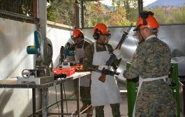 CARABINEROS DE CHILE ENTREGA MÁS DE MIL ARMAS
