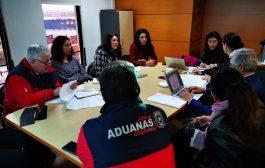 DGMN REALIZA REUNIÓN CON EL SERVICIO NACIONAL DE ADUANAS, VALPARAÍSO